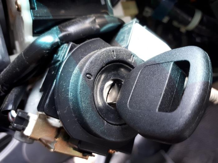Honda key lock